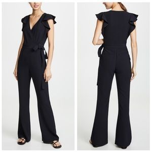 NWT A.L.C. Wilder Plunging V-Neck Wrap Jumpsuit 12